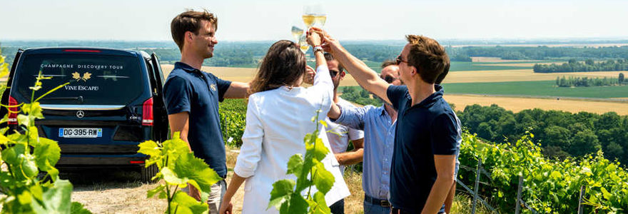 œnotourisme en Champagne