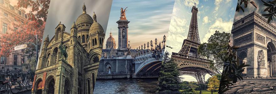 Monuments emblématiques de Paris